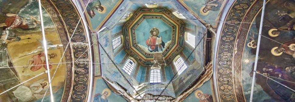 Biserica Sfantul Dimitrie - Fresca